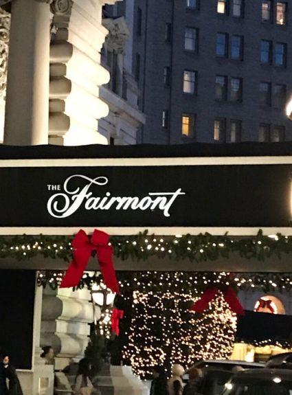 Fairmont San Francisco for the Holidays