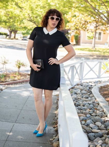 "Simple black ""Audrey Dress"""