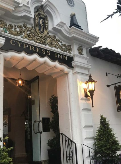 "Midweek Get-Away to ""The Cypress Inn"" Carmel,California"